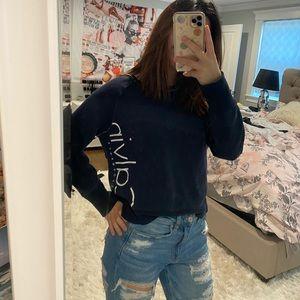 Navy blue Calvin Klein top